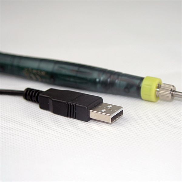 Anschluss an USB-Port des Computers oder Notebooks