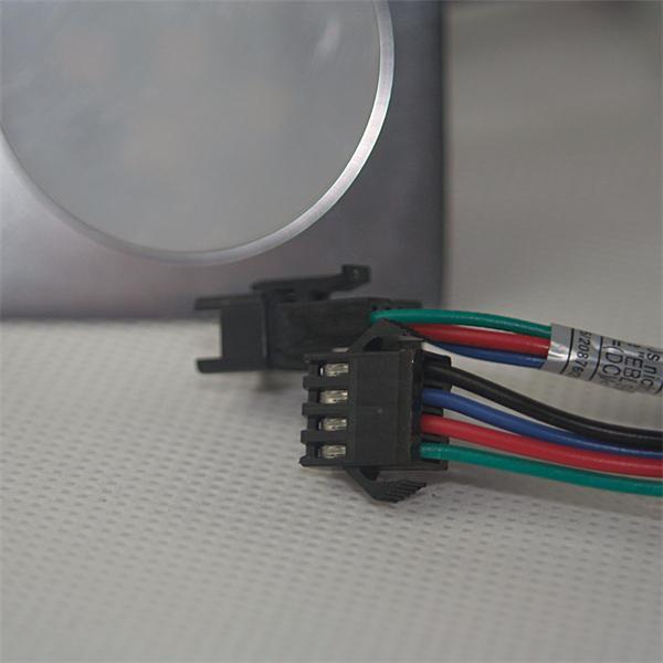 LED Downlight IP67 für 12V DC mit nur 0,5W Verbrauch und 4-poligen Anschluss