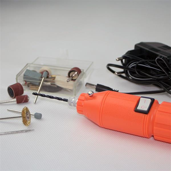 Akku-Bohrmaschine zum Schleifen, Gravieren, Bohren, Polieren und Reinigen