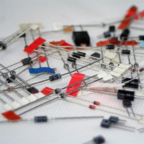 Dioden Bag Sortiment für elektronische Projekte in der Bastler-Werkstatt