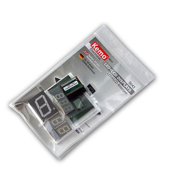 Sortiment LED+LCD Anzeigen ca. 10 Stk Zufallsset