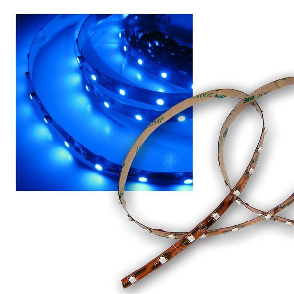 100cm SMD LED Streifen FLEXIBEL blau 12V DC