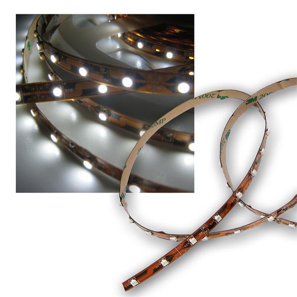 100cm SMD LED Streifen FLEXIBEL pur-weiß 12V DC