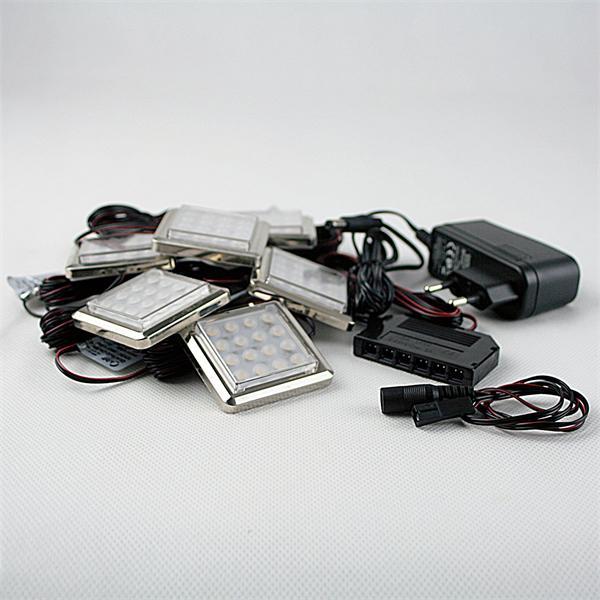hocheffiziente LED-Leuchtmittel mit passenden Steckernetzteil