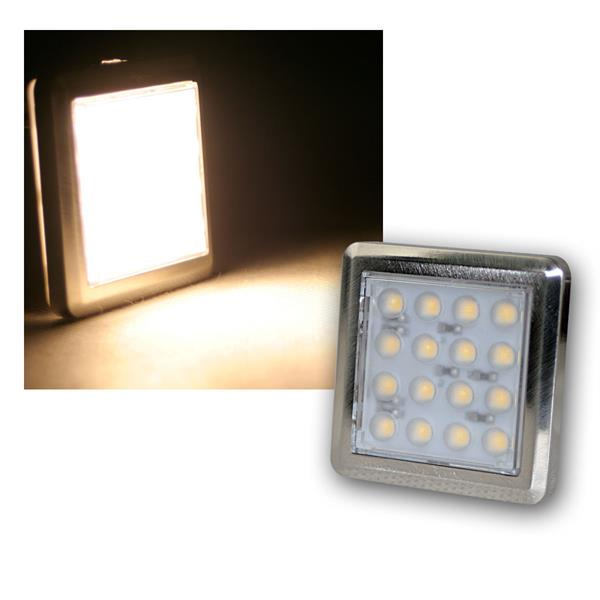 "LED Unterbauleuchte ""Quattro"" warmweiß 12V 1,6W"