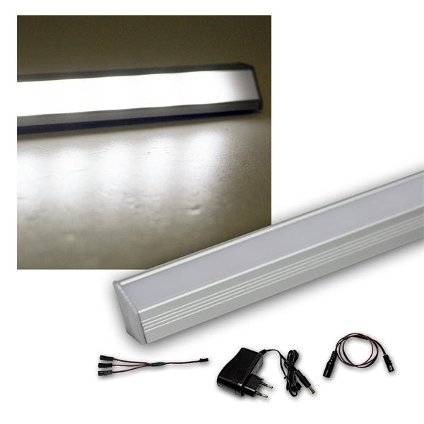 3er Set LED Leiste weiß 50cm STARLINE-mikro +Trafo