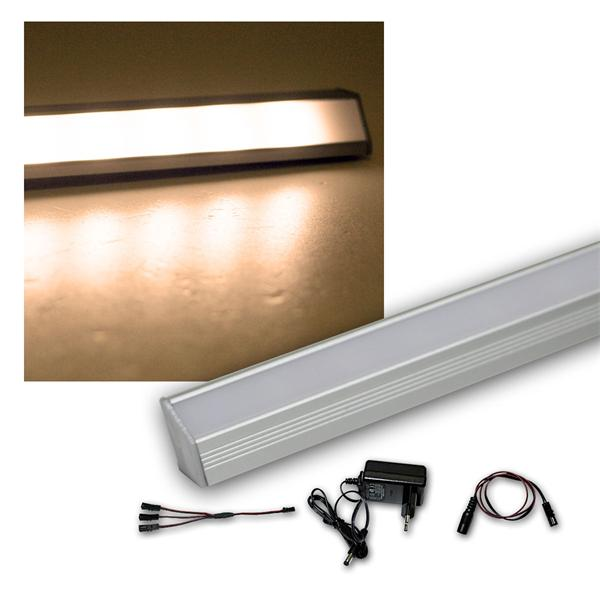 2er Set LED Leiste warm 50cm STARLINE-mikro +Trafo
