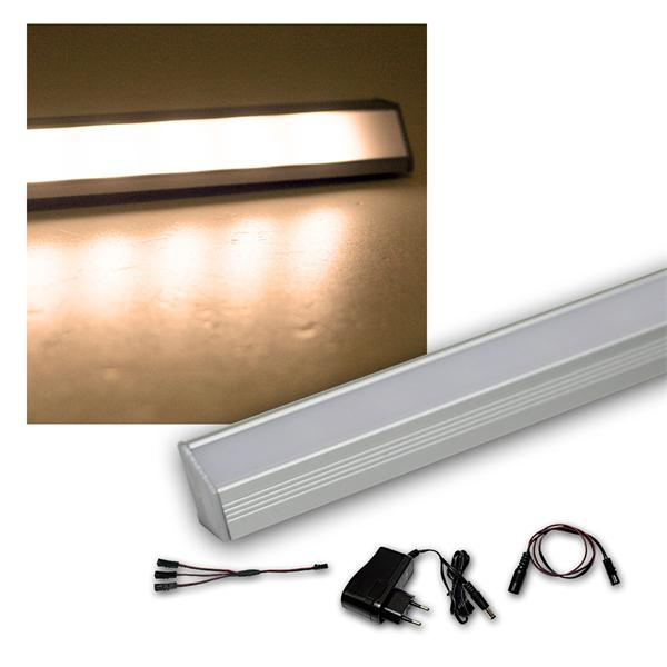 3er Set LED Leiste warm 50cm STARLINE-mikro +Trafo