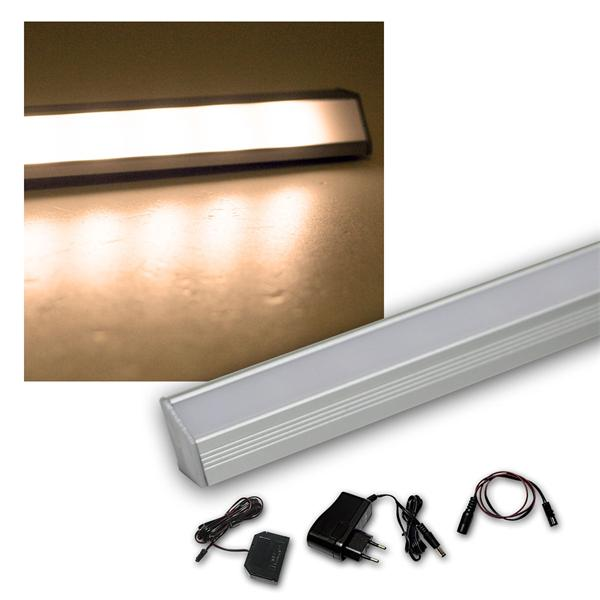 4er Set LED Leiste warm 50cm STARLINE-mikro +Trafo