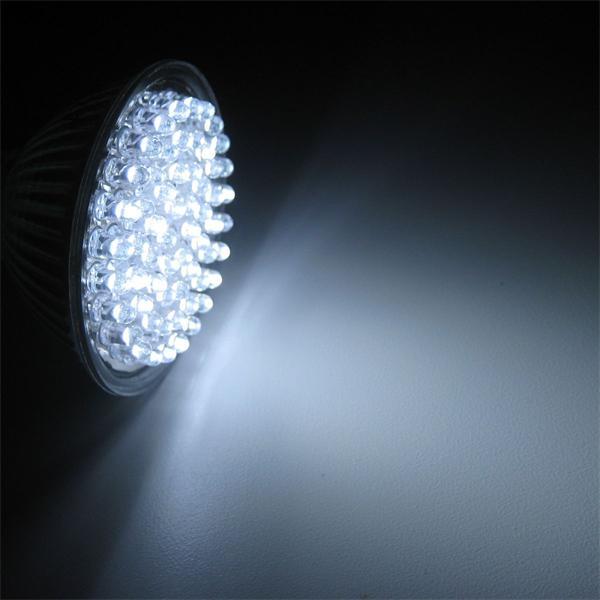 LED Leuchtmittel mit Vollglasgehäuse und einem Durchmesser von 50mm
