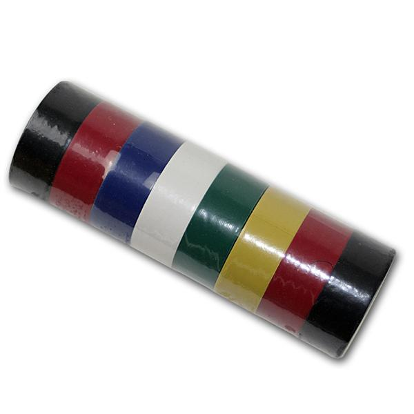 8 Rollen Universalklebeband versch. Farben