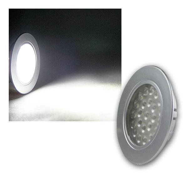 LED-Einbauleuchte EBL-R60 kalt weiß 12VDC 180lm