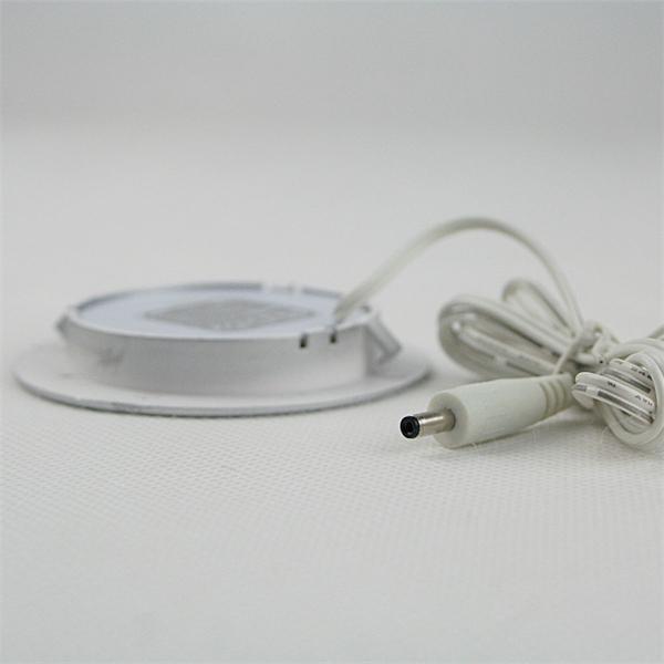 LED Wandeinbaustrahler rund für 12V DC mit nur ca. 2W Verbrauch