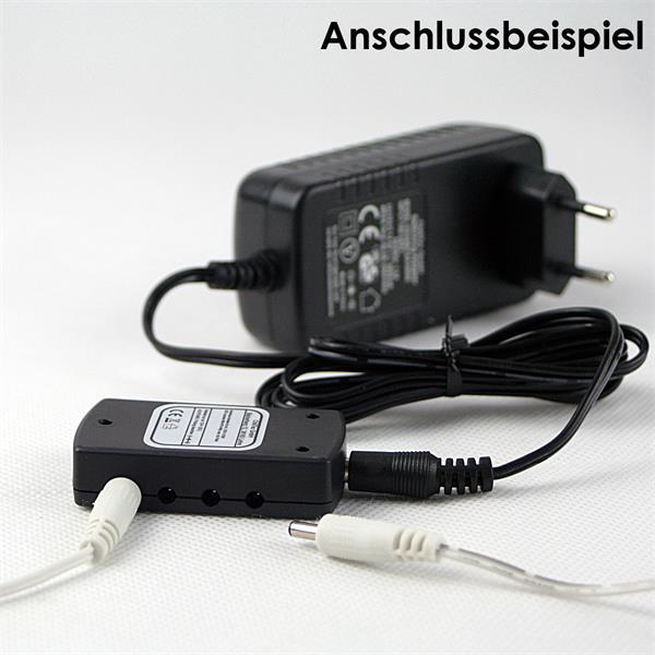 Verteiler für maximal 8 LED Leuchten bis 24 Watt