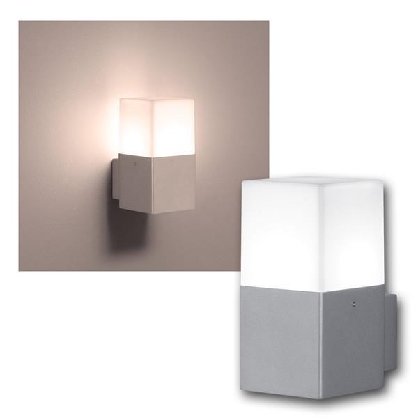 LED Wandleuchte HUDSON titanfarb 310lm 1-flammig