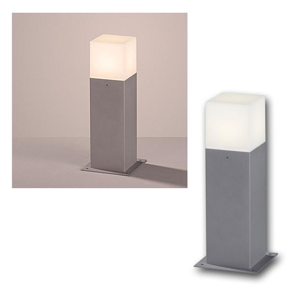 LED Steh-/Wegeleuchte HUDSON titanfarbig 310lm