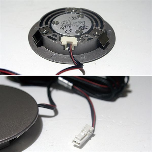 LED Strahler mit nur ca. 10mm Einbau-Tiefe ideal für Ihre Schrankwände
