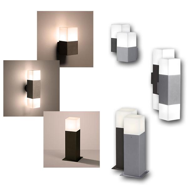 LED Außenleuchten HUDSON anthrazit/titan