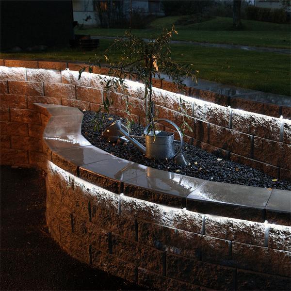 LED Beleuchtung für festliche Stimmung mit kaltweißer Leuchtfarbe