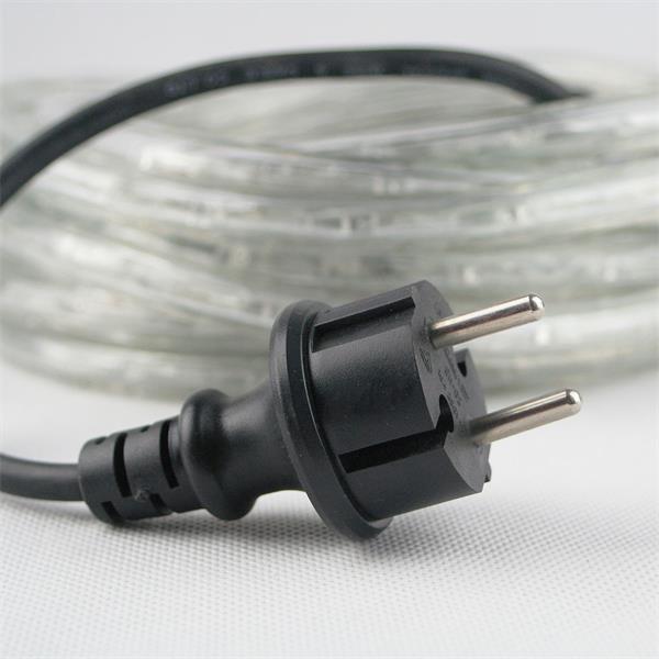 LED Lichtschlauch mit Anschlussleitung und Netzstecker für 230V