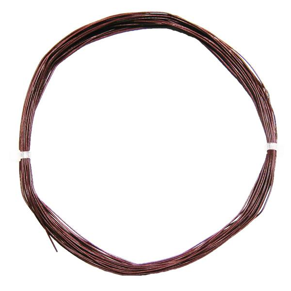 10m Litze flexibel braun 0,5mm/0,04mm²