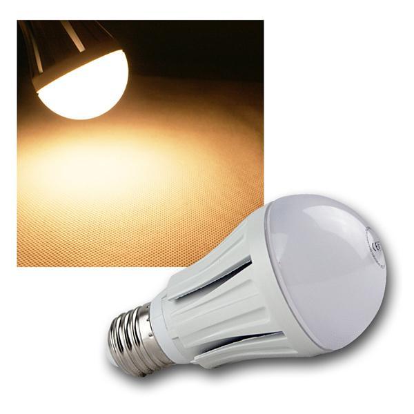 LED-Glühlampe E27 G50 SMD warm weiß 490lm 12 SMDs