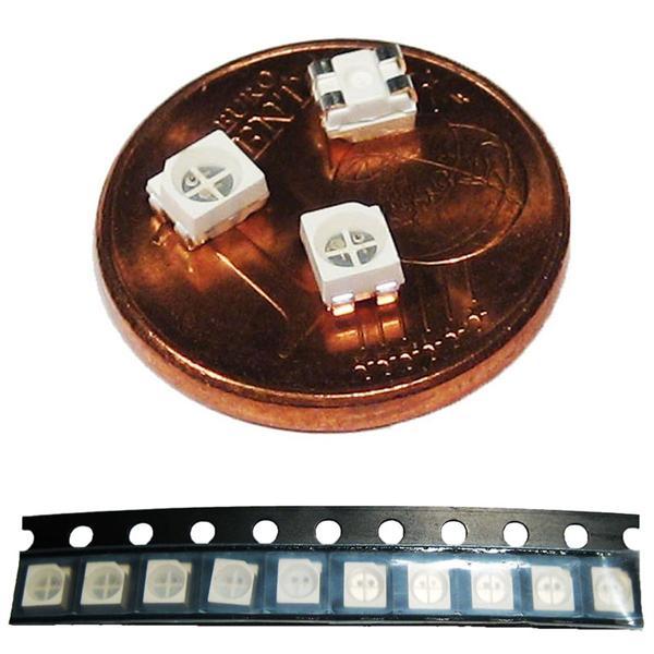 2-farbige LEDs im 10er Set in praktischer Verpackung