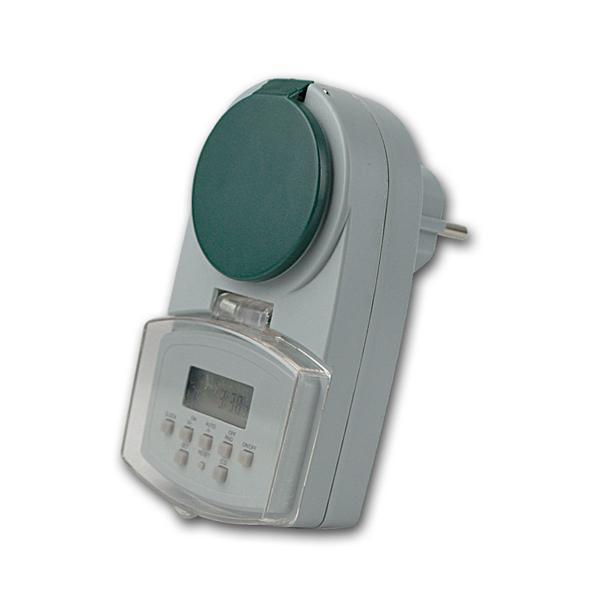 digitale Wochen-Zeitschaltuhr DAZ-7 für Außen-IP44