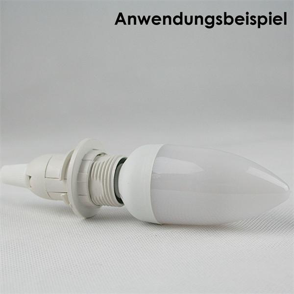 mobile Aufhängung für Leuchtmittel mit einem E14 Sockelgewinde