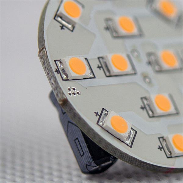 LED G4 12V rund mit 12 superhellen SMD LEDs der Ersatz für 20W Halogenlampen
