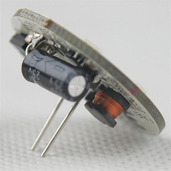 runde G4 Stiftsockel Led 12V hat einen Durchmesser von 30mm und rückseitigem Anschluss