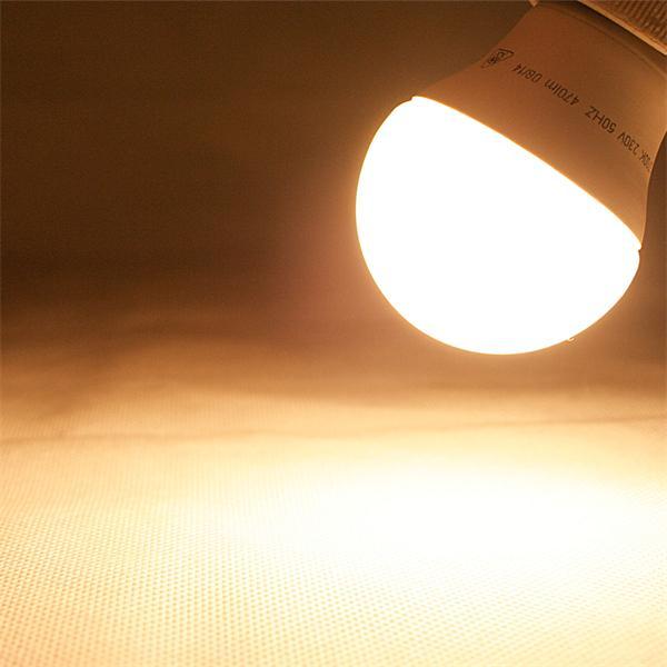 LED Leuchtmittel mit 470lm Lichtstrom und Super Abstrahlwinkel von 170°