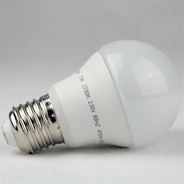 LED Glühbirne mit dem Maß 55x93mm und wunderschönen Design