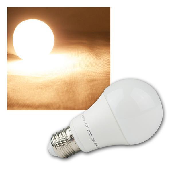 E27 LED Birne Leuchtmittel 230V 10W warm weiß 806lm