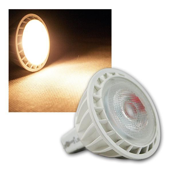 MR16 LED Strahler 12V 5W warm weiß 300lm GU5.3
