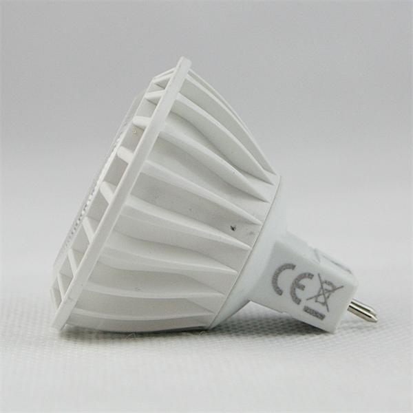 LED Spot GU5.3 Material Kunststoff und dem Maß 50x57mm