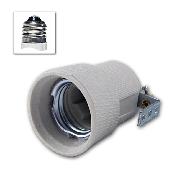 Porzellan-Fassung E27 250V/4A, Befestigungsbügel