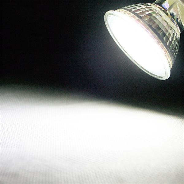 GU10 LED Spot mit 240lm Lichtstrom vergleichbar mit 30-40W Halogenspiegellampen