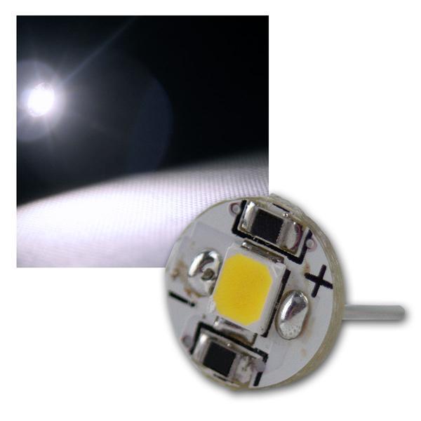 Stiftsockellampe G4 5050 SMD LED kalt weiß 20lm