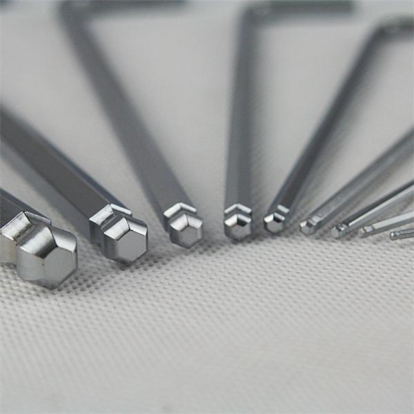 Kugelkopf Innensechskantschlüssel Set für bis zu 30 Grad Neigung