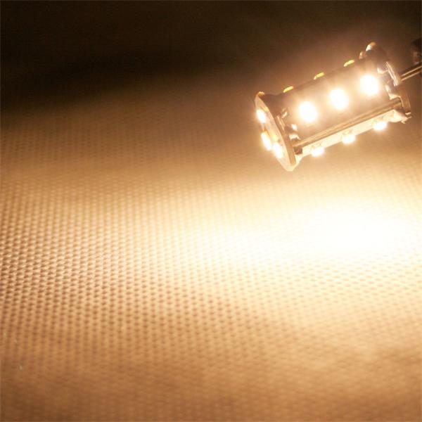 G4 Sockel LED Birnenform mit ca. 300° Abstrahlwinkel und 89lm Lichtstrom