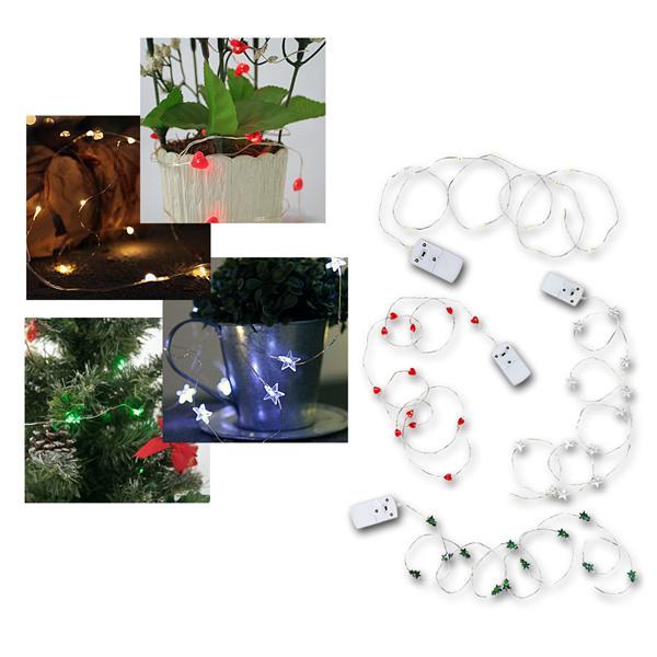 Mini LED Lichterketten String Batterie, für den Innenbereich