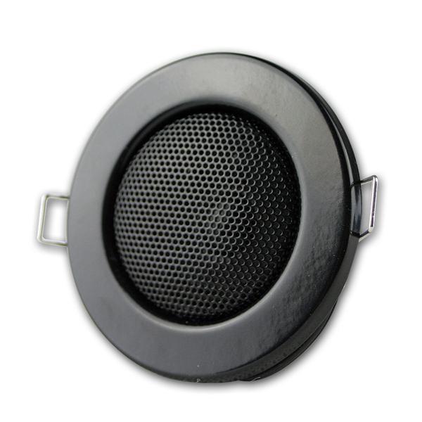 Einbaulautsprecher schwarz, Halogen-Look, Ø 8cm