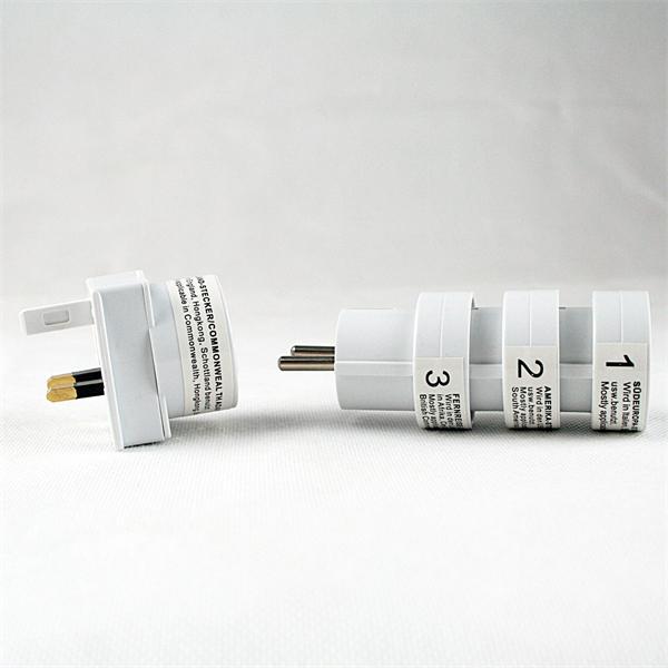 Reiseadapter sind für Geräte mit Euro-Stecker geeignet