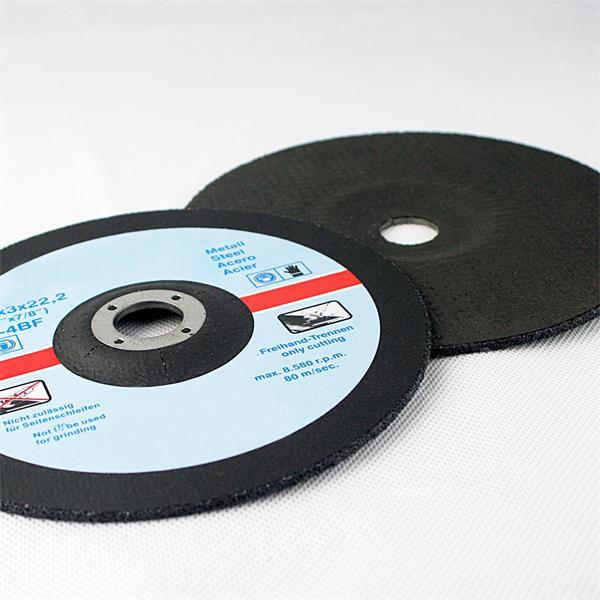 Flexscheiben zum Trennen von dünnwandigen Rohren, Blechen oder Profilen