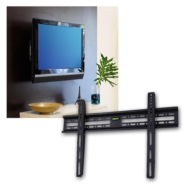 """TV-Wandhalter """"CT-30+S"""" 30-63"""" max 65kg Wasserwage"""