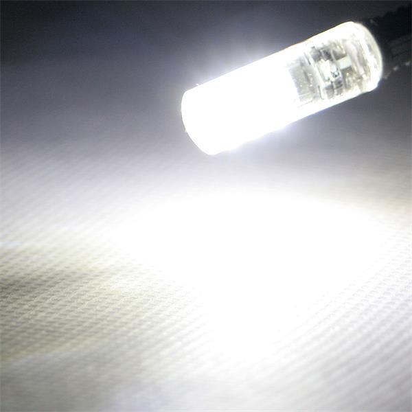 G4 Sockel LED Birne mit ca. 360° Abstrahlwinkel und 110lm Lichtstrom