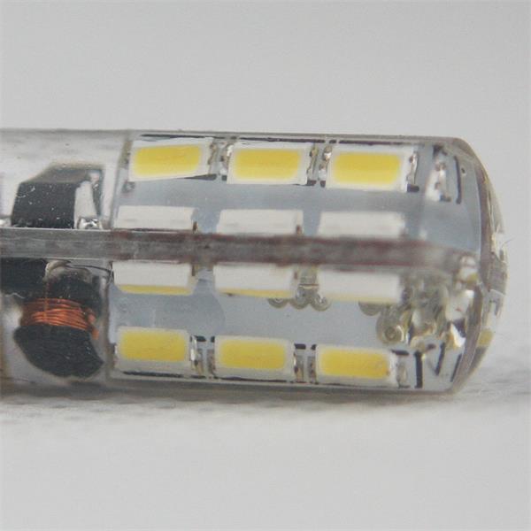 G4 Stiftsockel Led 12V mit dem Maß 10x35mm (ØxL) in Silikon gegossen