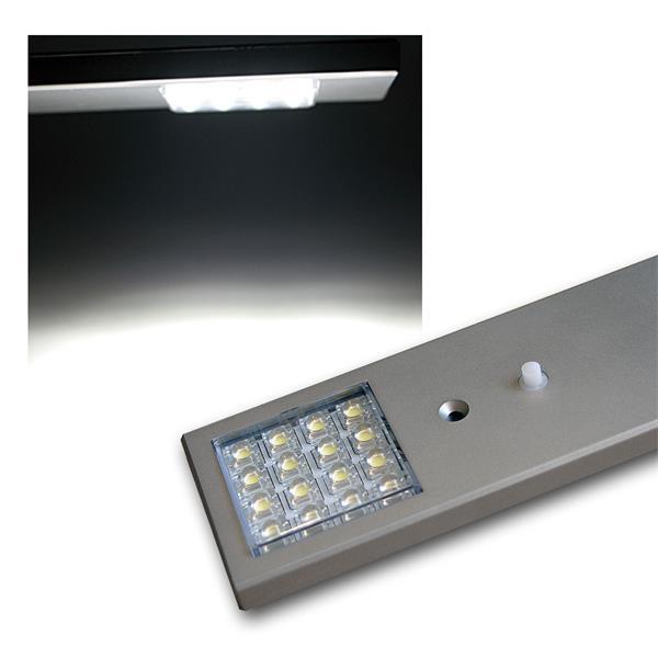 LED Unterbauleuchte, 12V, 1,0W, 16x SuperFlux LEDs
