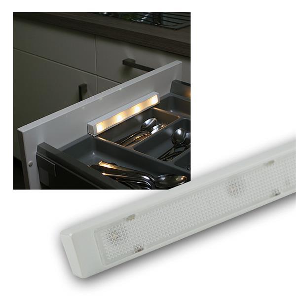 """LED Batterie-Schubladenleuchte """"LSL-4"""" warmweiß"""
